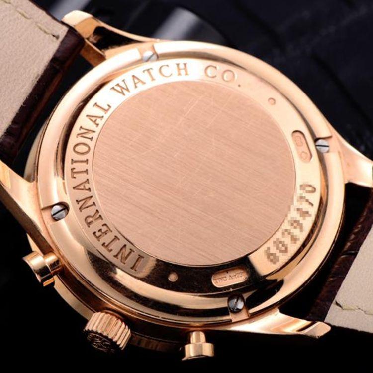 萬國(iwc)瑞士手表 葡萄牙系列機械男士手表iw371480怎么樣,好不.圖片