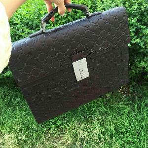GUCCI古驰黑色时尚公文包