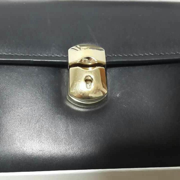 Balenciaga巴黎世家黑色短款钱包