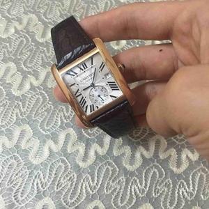 Cartier卡地亚时尚机械腕表