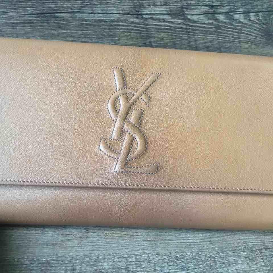 YSL圣罗兰女士棕色手包