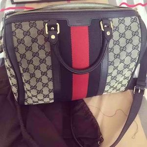 GUCCI古驰时尚女士波士顿手提包