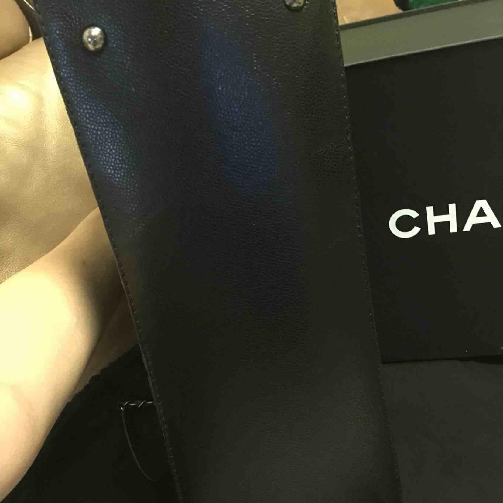 CHANEL香奈儿黑色女士单肩包