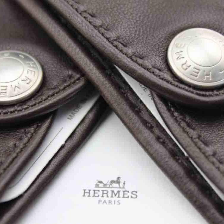 Hermes爱马仕高尔夫手套