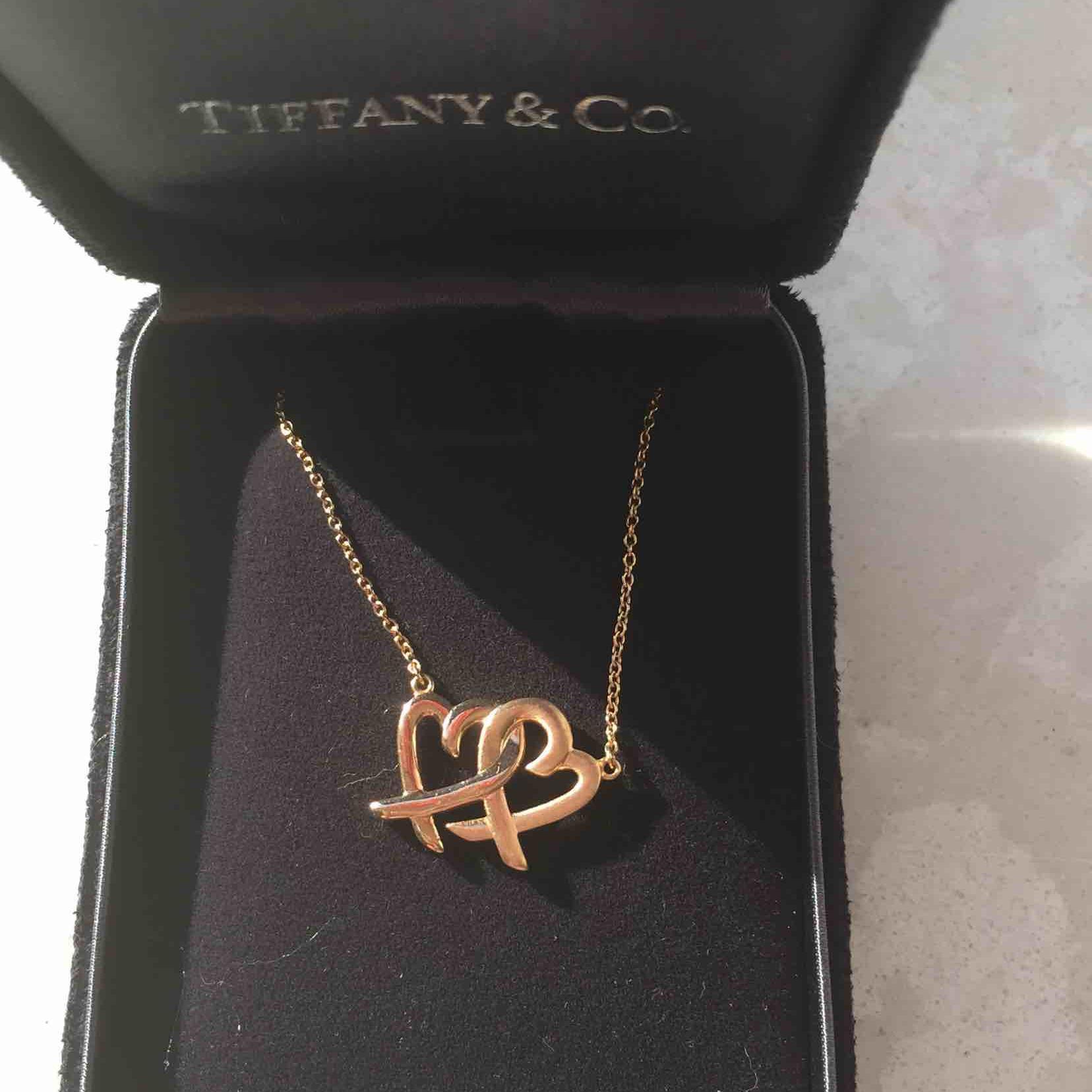 Tiffany蒂芙尼18k黄金项链
