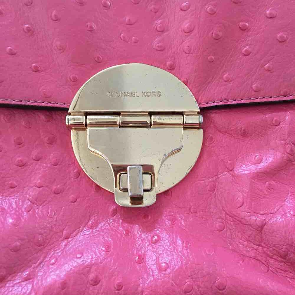 MK粉色单肩包