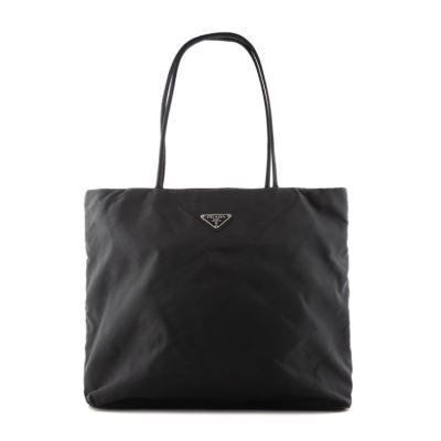 PRADA普拉达黑色手提包