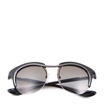 PRADA普拉达黑色时尚太阳镜