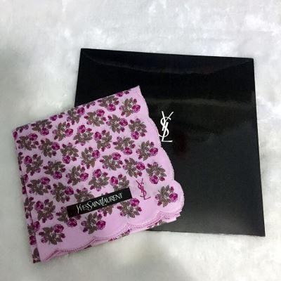 YSL圣罗兰薄款小方巾