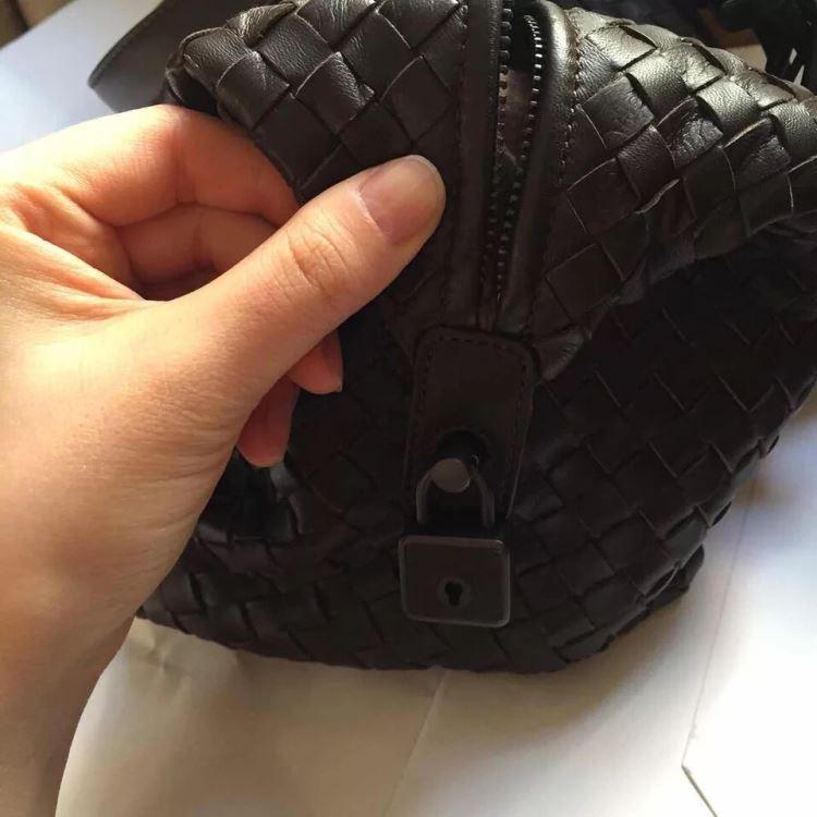 Bottega Veneta葆蝶家编制纹手提包