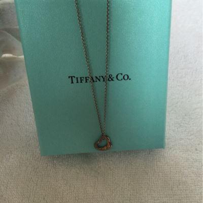 Tiffany蒂芙尼心型银项链