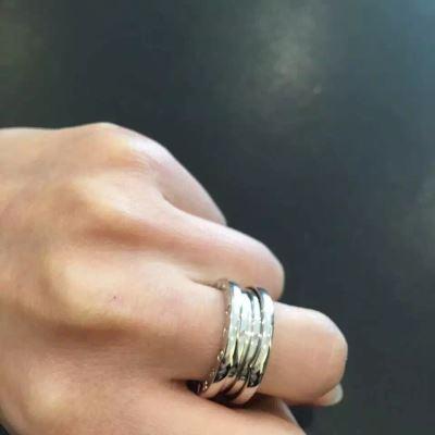 BVLGARI宝格丽弹簧戒指
