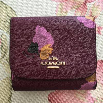 Coach蔻驰短款钱包