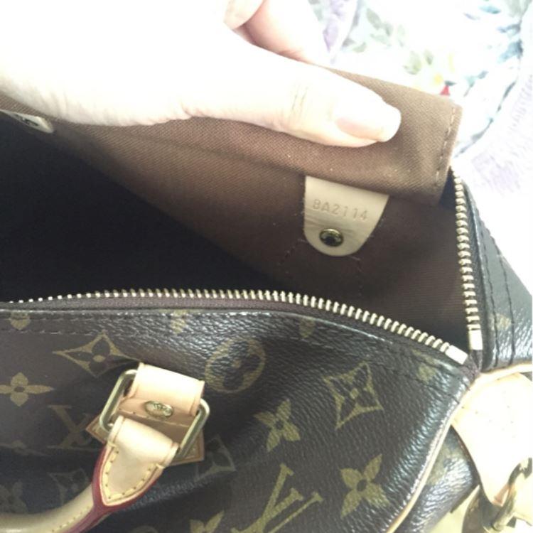 LV路易·威登老花手提包