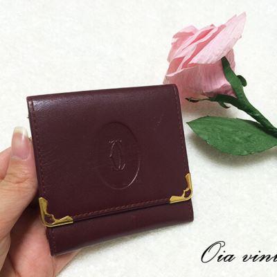 Cartier卡地亚波多尔红小零钱包