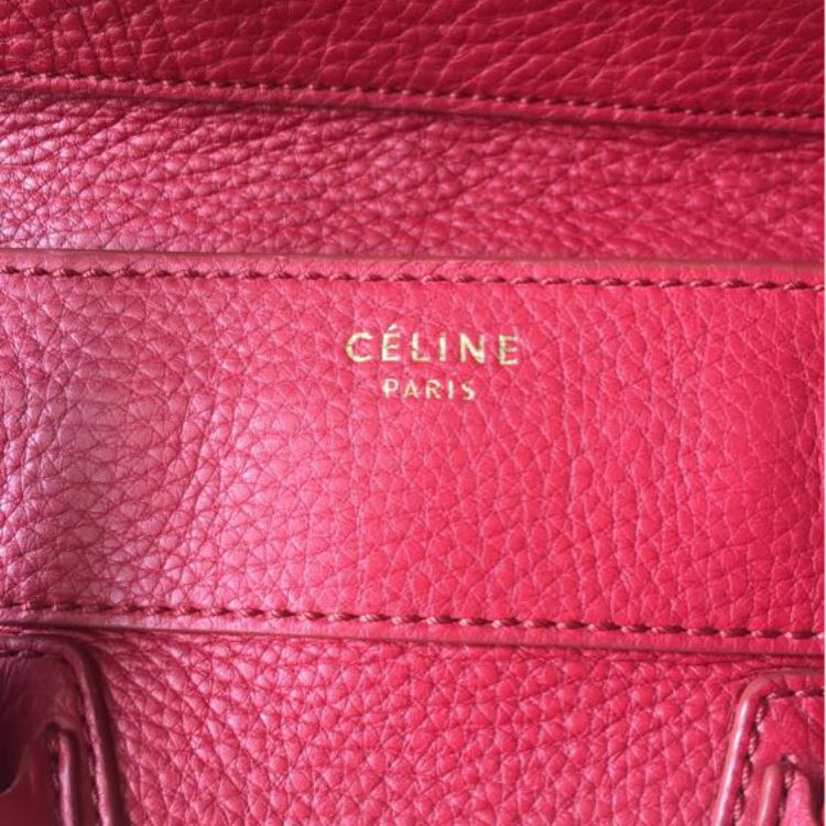 Celine赛琳手提笑脸包