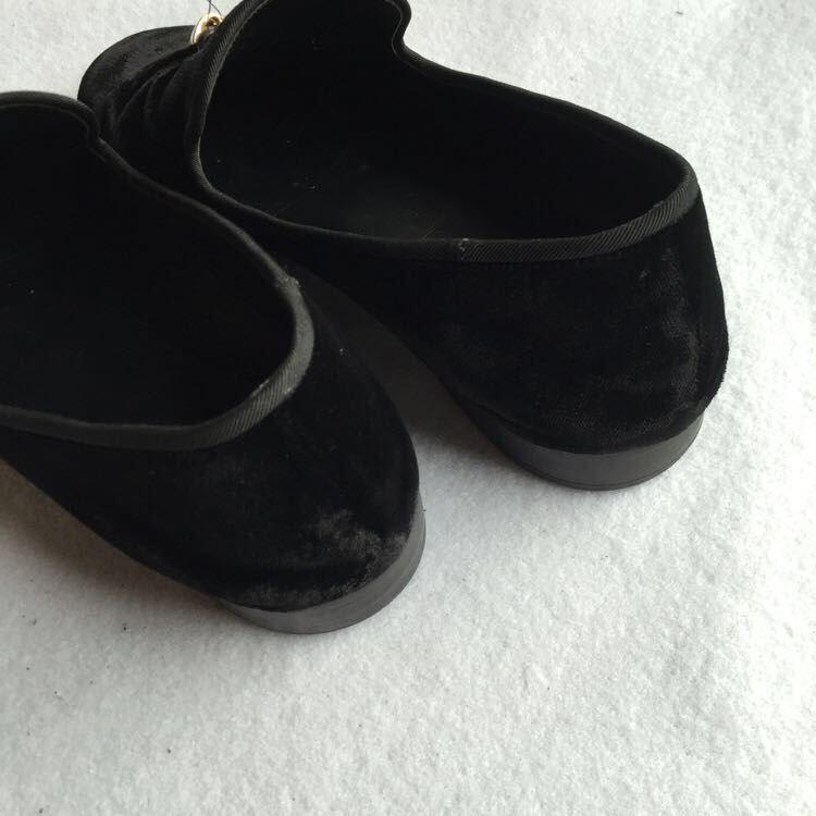 GZ金属点缀装饰丝绒男鞋