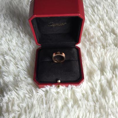 Cartier卡地亚宽版49号戒指