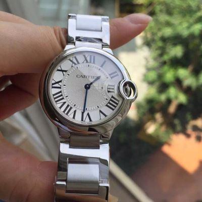 Cartier卡地亚蓝气球系列中号石英腕表