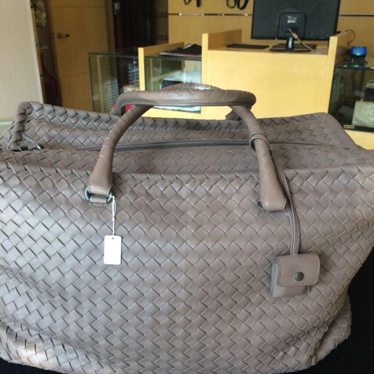 BV宝缇嘉女士灰色手提包