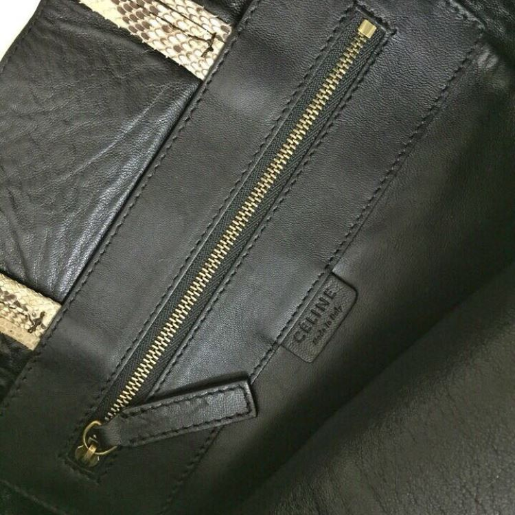 Celine赛琳蟒蛇皮手提包