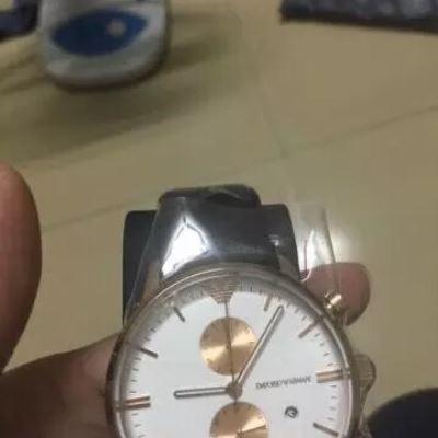 Emporio Armani运动石英腕表
