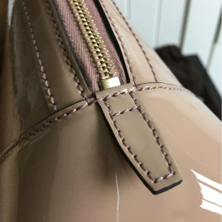 GUCCI古驰Nice系列裸粉色手提包