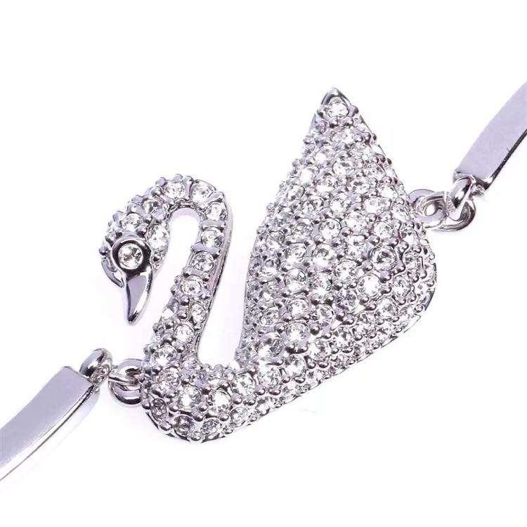 SWAROVSKI施华洛世奇经典款银色天鹅手镯手链5011990