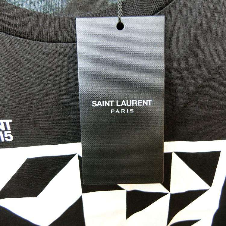 Saint Laurent Paris短袖T恤
