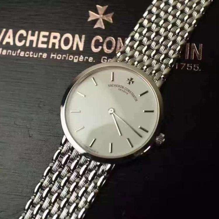江诗丹顿传承系列31193全白金腕表