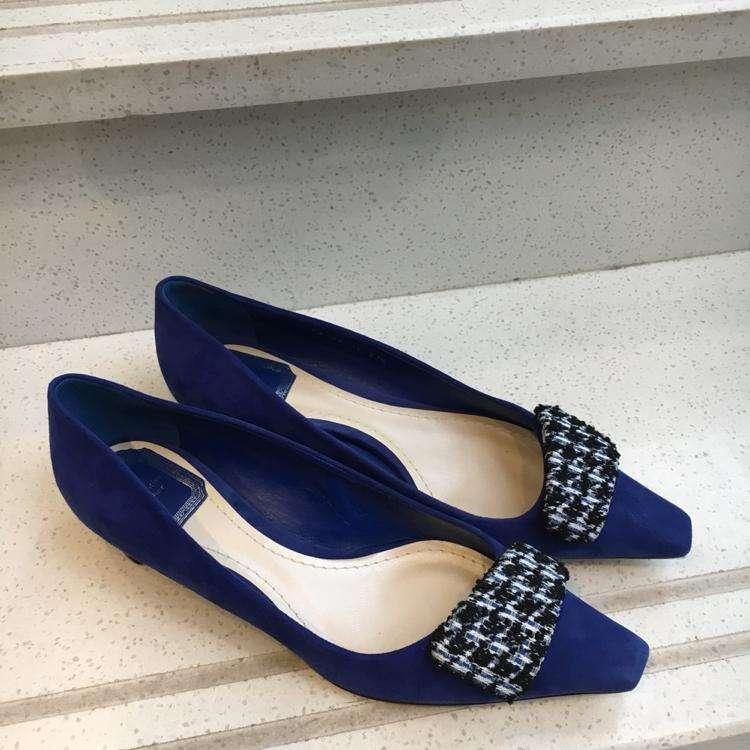 Dior迪奥女士走秀款单跟鞋