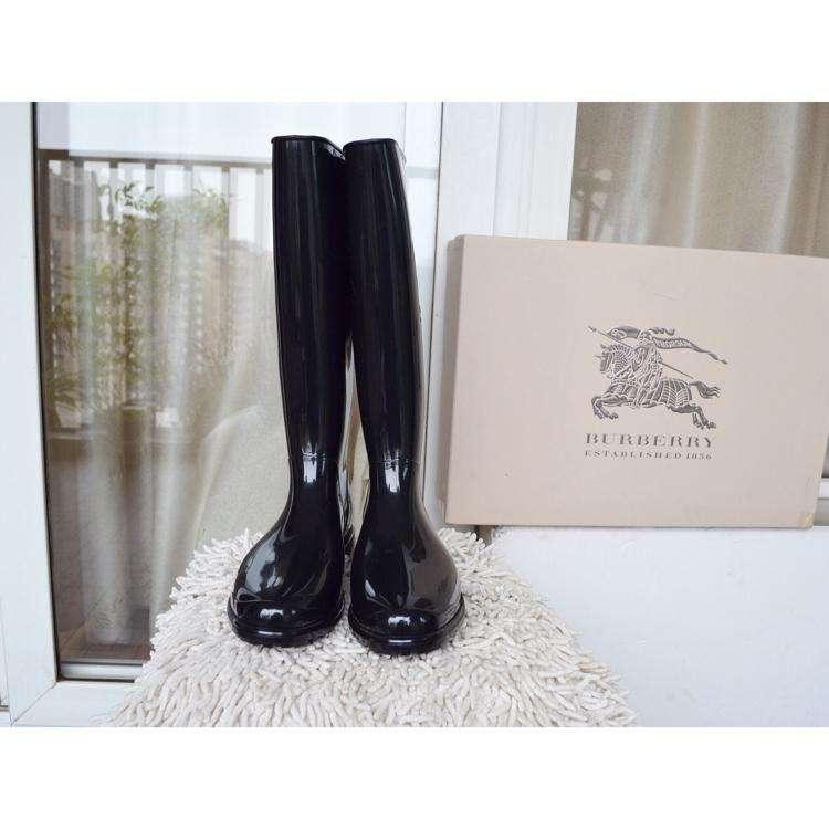 BURBERRY博柏利女士经典款雨靴