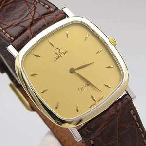 OMEGA欧米茄碟飞系列复古款方盘手表