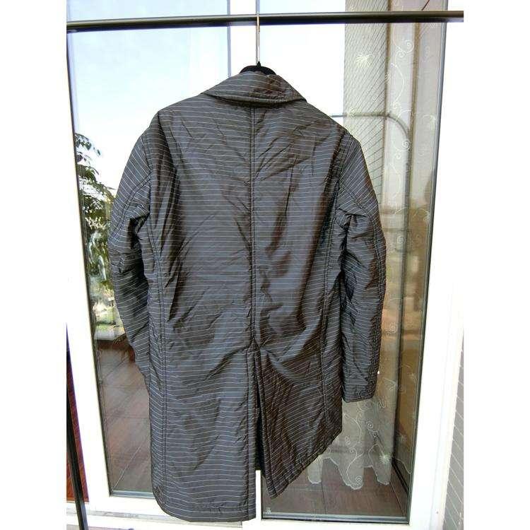 EMPORIO ARMANI男士中长款棉服
