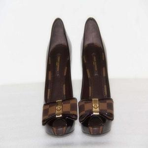 LV路易·威登高跟鱼嘴女鞋