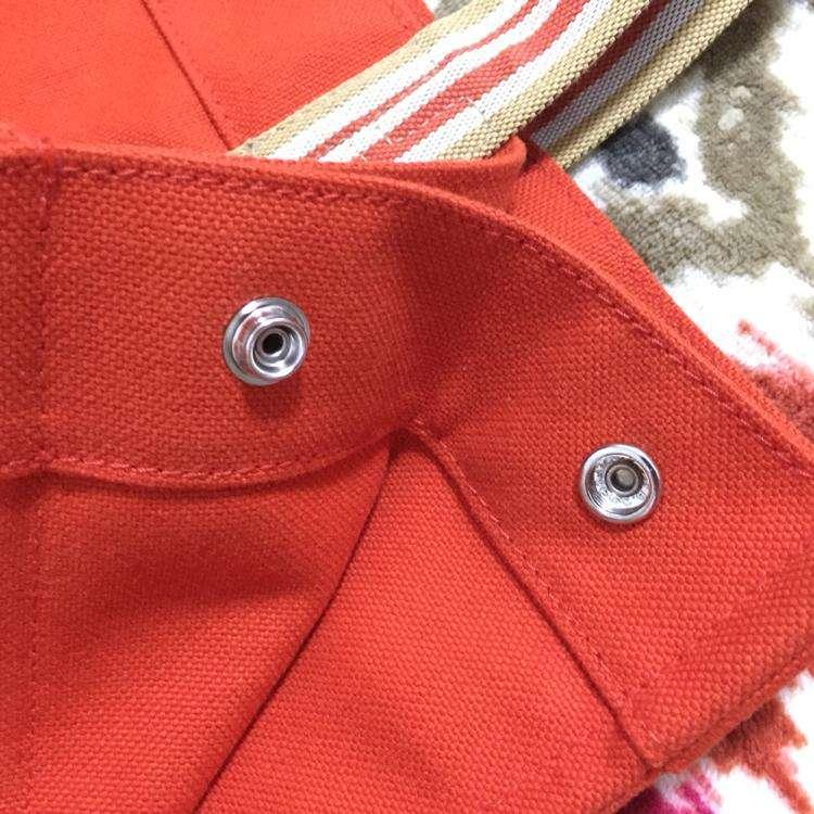 Hermès爱马仕帆布单肩包