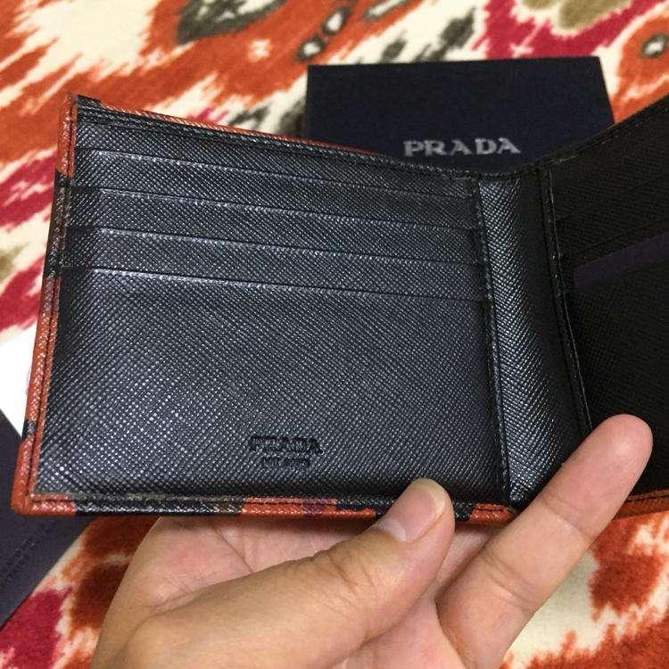 PRADA普拉达迷彩钱包