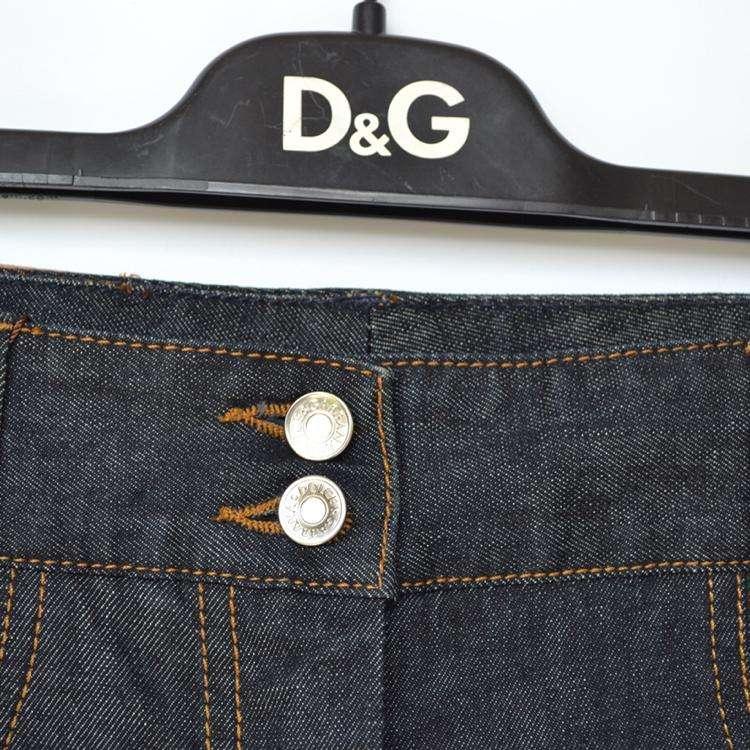 DG杜嘉班纳女士牛仔裤