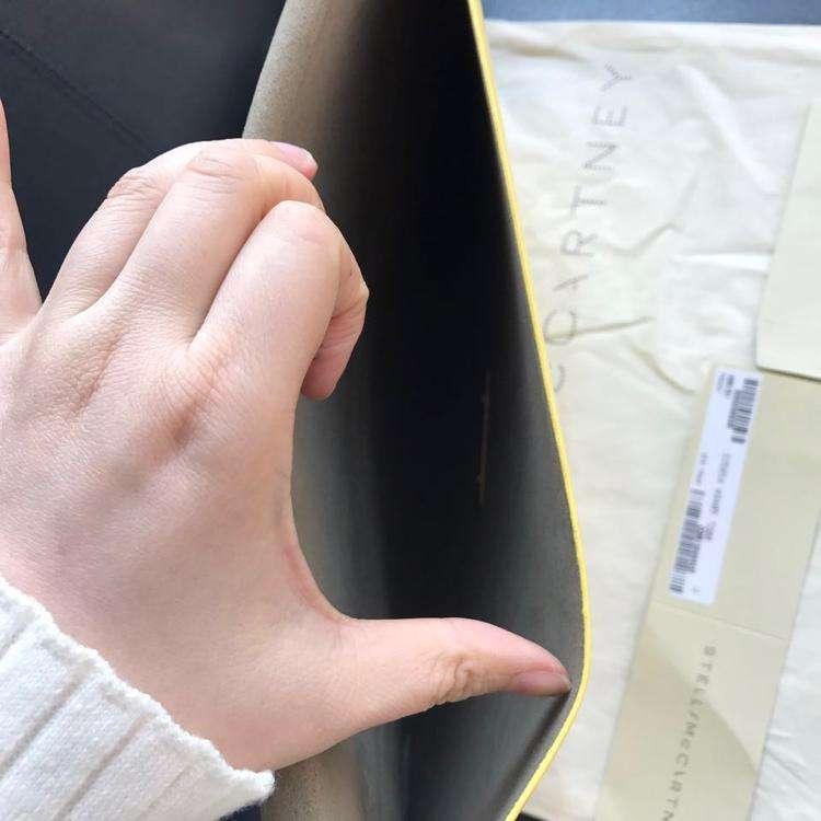 Stella McCartney鹅黄色手拿包