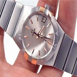 OMEGA欧米茄星座系列玫瑰金自动机械腕表