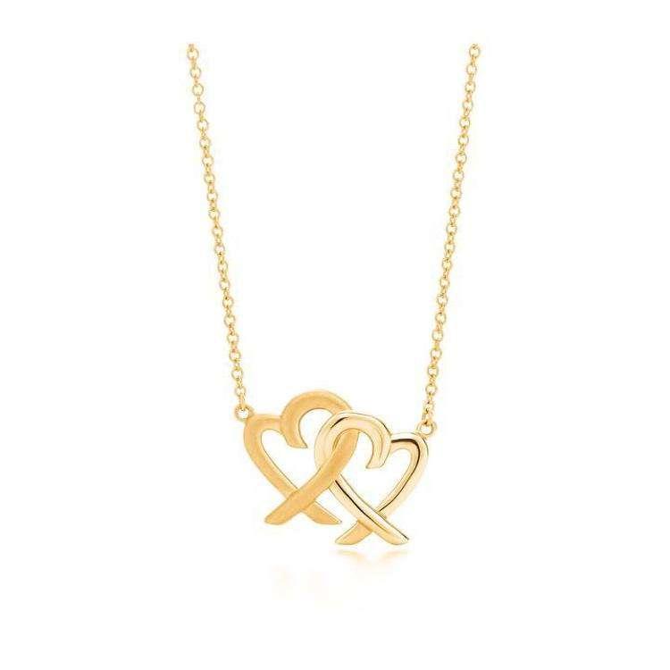 Tiffany & Co.蒂芙尼paloma picasso18k黄金项链