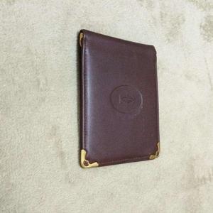 Cartier卡地亚证件夹