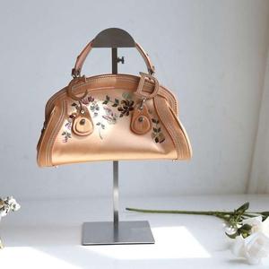 Dior迪奥刺绣丝绸手提包
