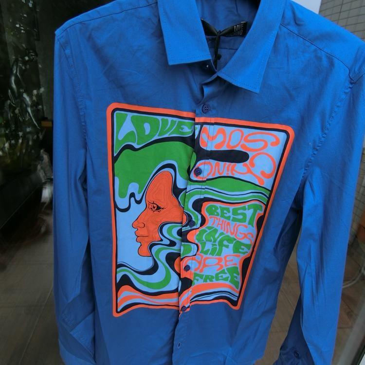 Love Moschino男士衬衫