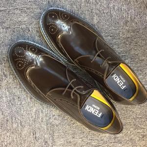 FENDI 芬迪男士皮鞋