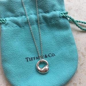 Tiffany925银项链