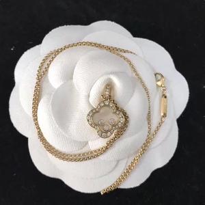 Chopard 箫邦HAPPY DIAMONDS系列18k金钻石项链