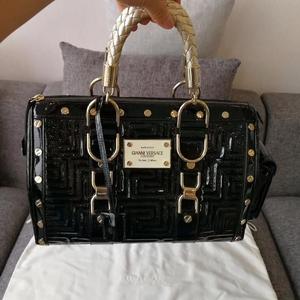 Versace 范思哲回形铆钉手提包