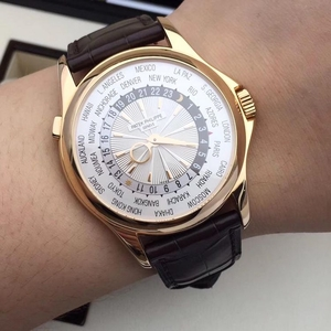 PATEK PHILIPPE 百达翡丽玫瑰金自动机械腕表