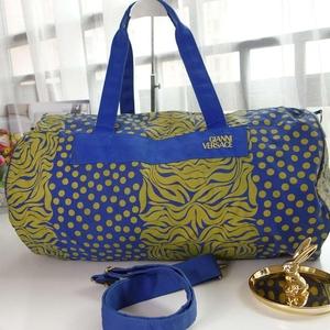 Versace炫酷印花大号肩带旅行包